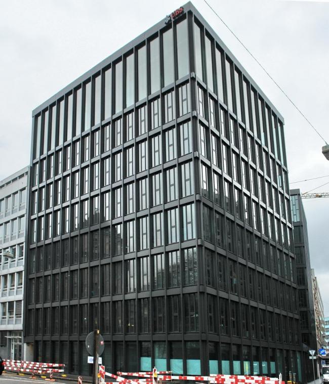 Офисное здание Picassohaus в Базеле. 2008. Фото: Нина Фролова