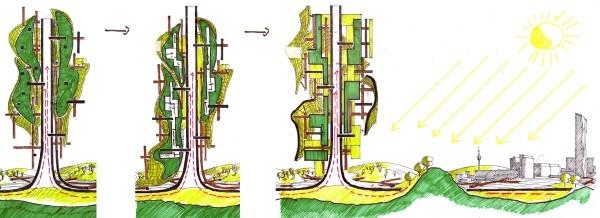Башня-электростанция Energie-Land-Turm © heri&salli