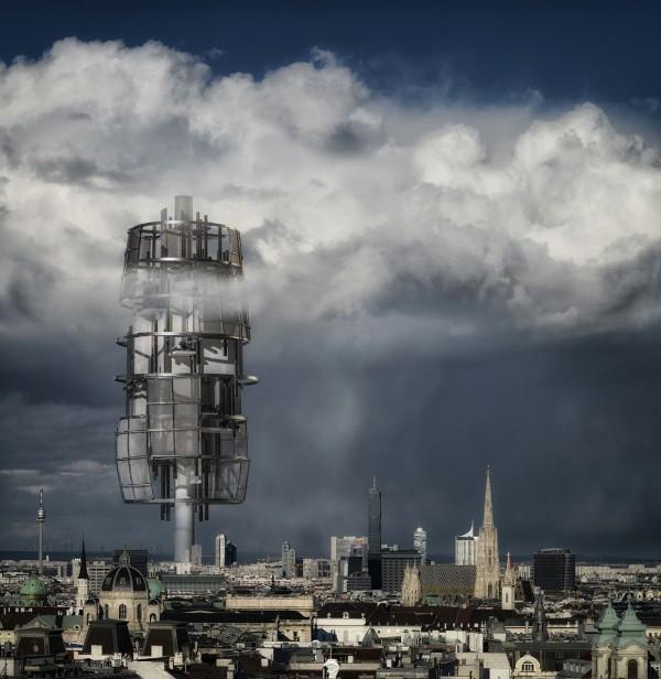 Башня-электростанция Energie-Land-Turm © Hans Schubert / heri&salli