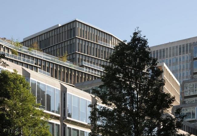 Деловой комплекс Зиг Заг. Фотография предоставлена компанией «РОТО ФРАНК»