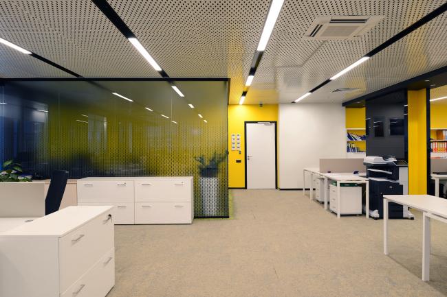 Офис компании МРТС. Реализация, 2015 © Arch group