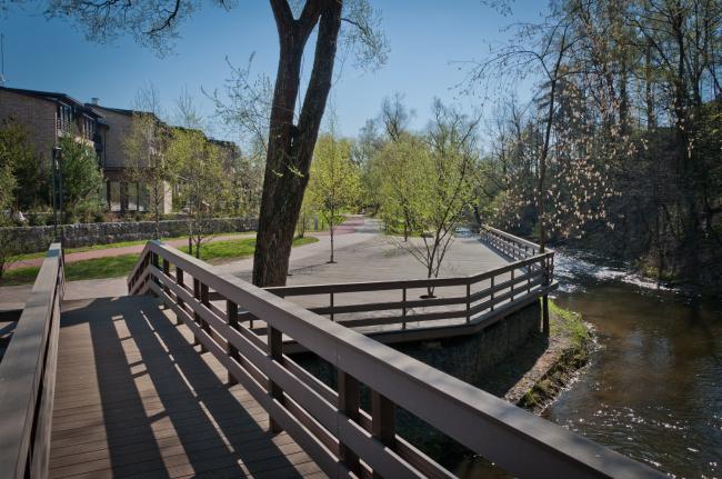 Многофункциональный спортивно-общественный центр в Олимпийской деревне «Новогорск». Постройка, 2016 © Архитектуриум