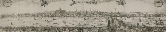 Панорама Лондона, 1616. Фотография предоставлена художественной галереей Гилдхолла
