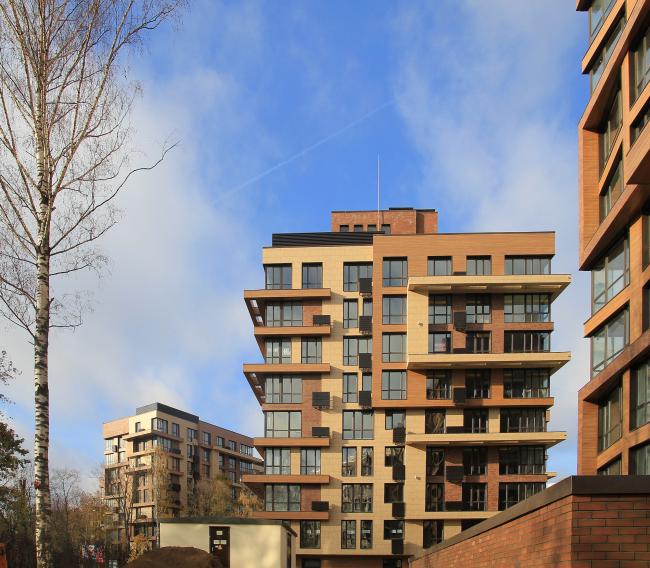 "Residential and sports complex ""Novogorsk Olympic Village. Apartments"". Construction, 2015 © Arkhitekturium"