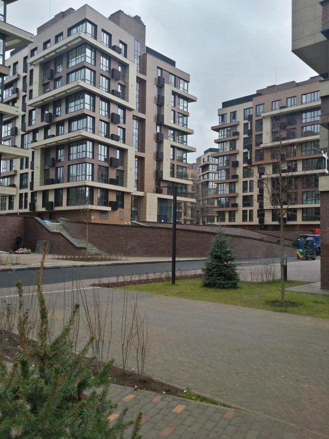 Жилой комплекс «Олимпийская деревня Новогорск. Квартиры». Реализация, 2015 © Архитектуриум