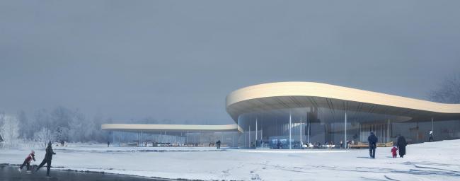 Канадский музей каноэ © heneghan peng architects