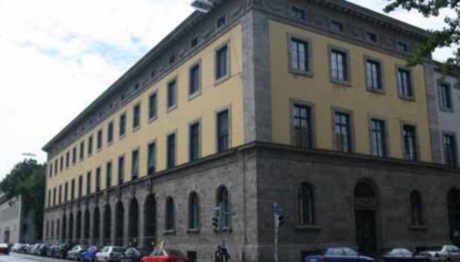 Герман Бестельмайер. Новое здание Высшей Технической школы в Мюнхене. 1922–1926