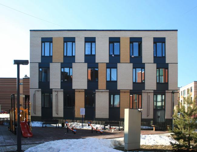 Жилой комплекс «Андерсен». Постройка, 2016 © Архитектуриум