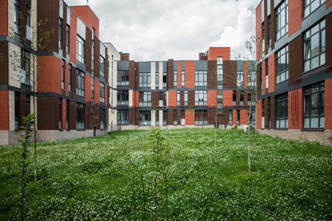 Жилой комплекс «Андерсен». Постройка, 2016. Фотография © Денис Есаков