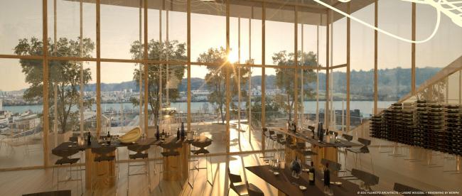 Жилой комплекс Canopia – конкурсный проект © SOU FUJIMOTO ARCHITECTS + LAISNÉ ROUSSEL + RENDERING BY TÀMAS FISHER AND MORPH