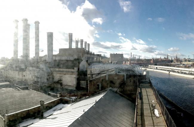 ГЭС-1. Фотография из презентации Андрея Асадова
