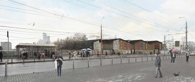 Рынок «Багратионовский», проект реконструкции