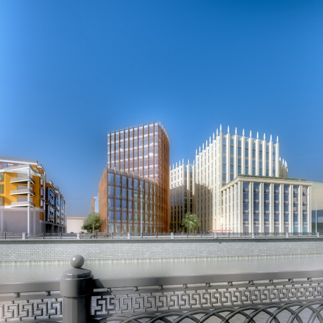 Business multi-use centre, Ozerovskaya emb., vladenie 22-24