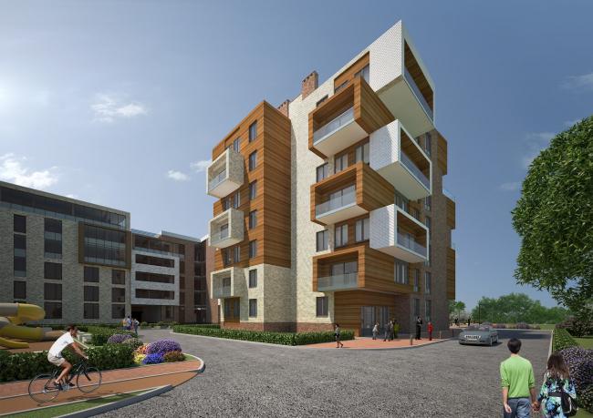 Жилой район «Вилладжио». Проект, 2014 © Архитектуриум