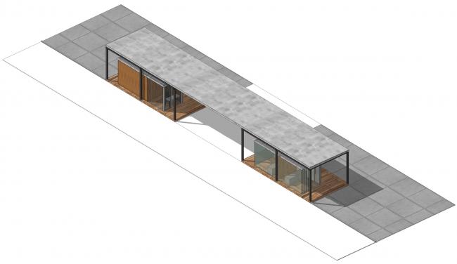 Большая входная группа №1. Парк на Ходынском поле, проект 2015-2016 © Kleinewelt Architekten. Предоставлено ГКУ ОД «Мосгорпарк»