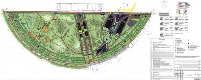 Парк на Ходынском поле, проект 2015-2016 © Kleinewelt Architekten. Предоставлено ГКУ ОД «Мосгорпарк»