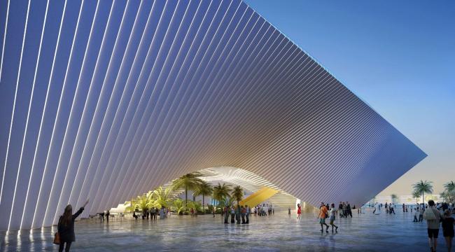 Павильон «Возможность» © BIG architects / Dubai Expo 2020