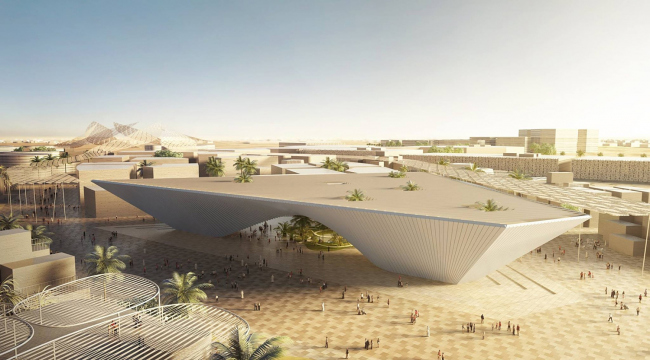Павильон «Возможность» © BIG architects / Dubai Expo 2020