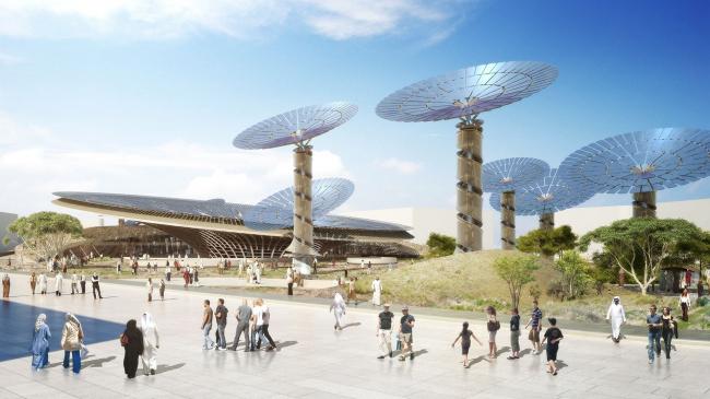 Павильон «Устойчивость» © Grimshaw Architects / Dubai Expo 2020