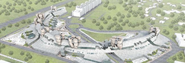 Технопарк Сбербанка в Сколково © Eric Owen Moss Architects