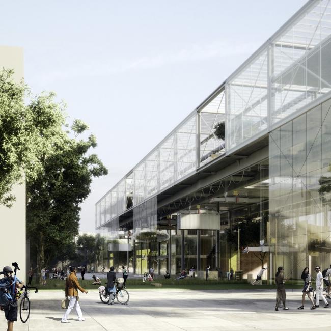 Конкурсный проект Erik Giudice Architects. Изображение предоставлено компанией BYGST