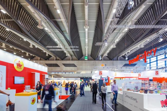 Павильон 3A выставочного комплекса Nür_nbergMesse © Heiko Stahl