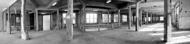 Реконструкция здания бывшей фабрики-кухни на ул. Новокузнецкая. Существующее положение до реконструкции (строительство – 1932 г) © Kleinewelt Architekten