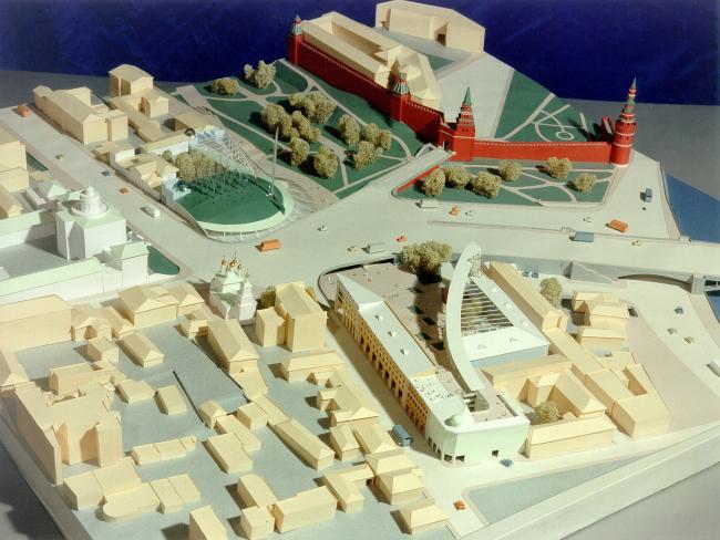Комплексная реконструкция Боровицкой площади © Архитектурное бюро Асадова