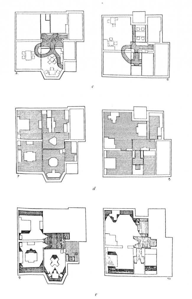 Диаграммы старорежимной (слева) и современной (справа) квартир, по Клейну. Изображение предоставлено издательством «БуксМарт»