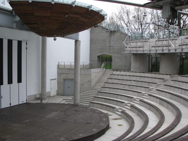 Опера и филармония Подляска. Европейский центр искусства в Белостоке. Амфитеатр. Постройка, 2012. Фотография © Ирина Бембель