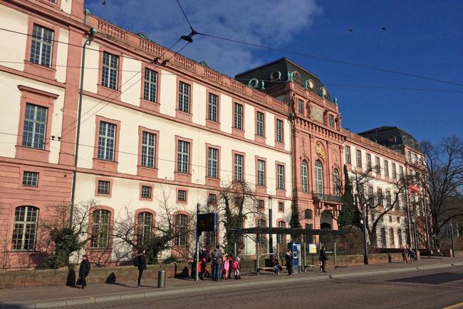 Центральный корпус Дармштадтского технического университета. Фото предоставлено Марией Крыловой