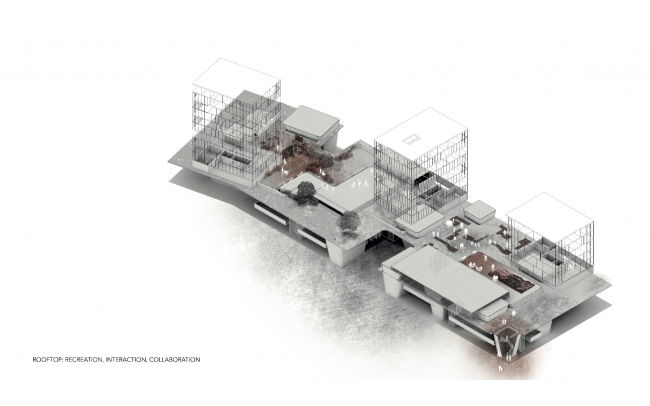 Магистерская диссертация Иво Барроса в АА – индустрии в центральной части города. Из презентации Иво Барроса
