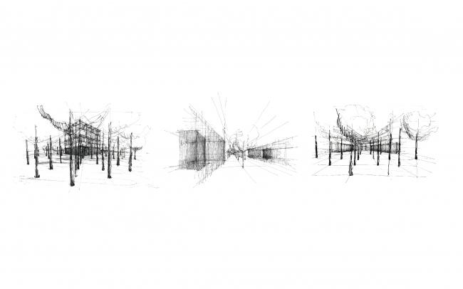 Поиск пространства. Рисунок из презентации Иво Барроса