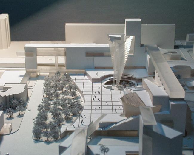 Комплексная реконструкция площади Крестьянская Застава © Архитектурное бюро Асадова
