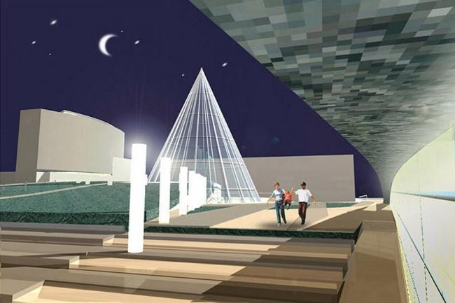 Комплексная реконструкция площади Советов, г. Сургут © Архитектурное бюро Асадова
