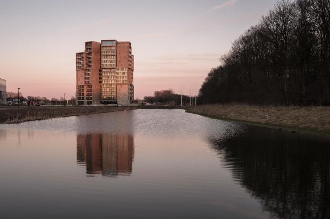 Campus Hall – студенческое общежитие Университета Южной Дании © Torben Eskerod