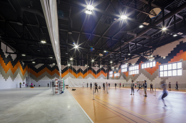 Спортивно-зрелищный комплекс LE FORUM © Guillaume Guerin