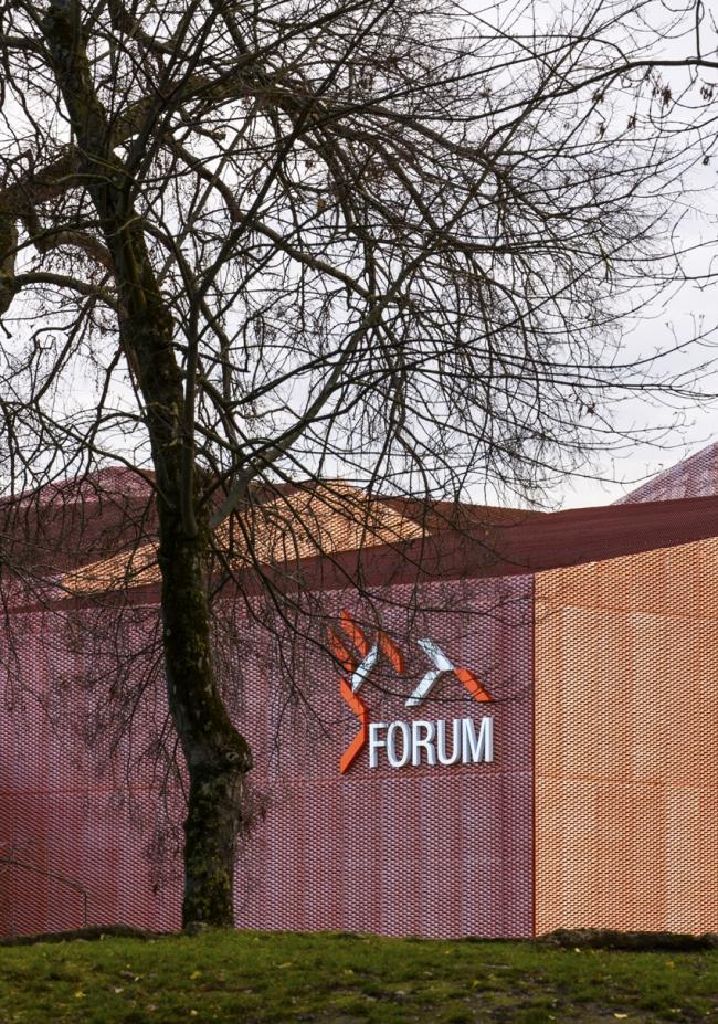 Спортивно-зрелищный комплекс LE FORUM © Luc Boegly