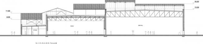 Спортивно-зрелищный комплекс LE FORUM © Manuelle Gautrand Architecture
