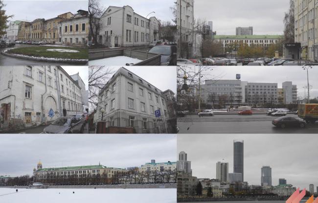 Многофункциональный жилой комплекс в Екатеринбурге. Существующее положение. Проект, 2016 © T+T Architects