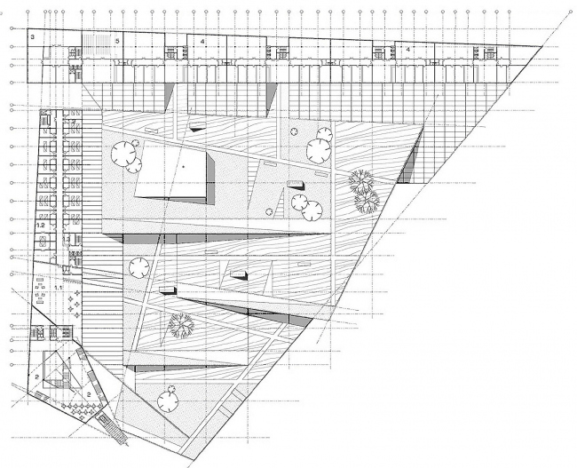 Культурно-деловой центр «Метеор» с ледовым дворцом © Архитектурное бюро Асадова