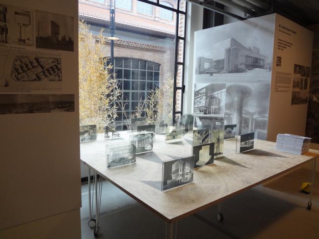 Экспозиция выставки «Памятника авангарда быть!» Музея архитектуры в рамках 21-й Триеннале в Милане «21 век. Дизайн после дизайна»