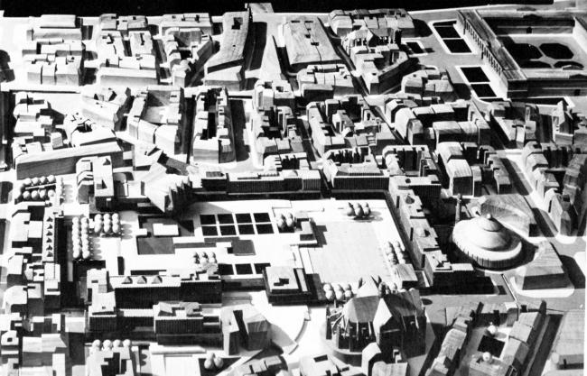«Конкурс 6 макетов». Проект К. Шарпантье. 1967 г.