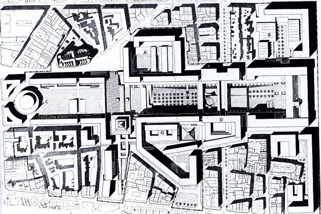 «Конкурс 6 макетов». Проект М. Маро и Д. Трамбло. 1967 г.