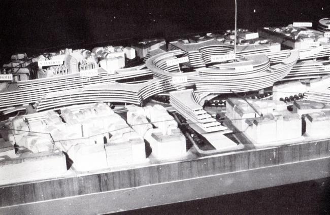 «Конкурс 6 макетов». Проект Ж. Фожерона. 1967 г.