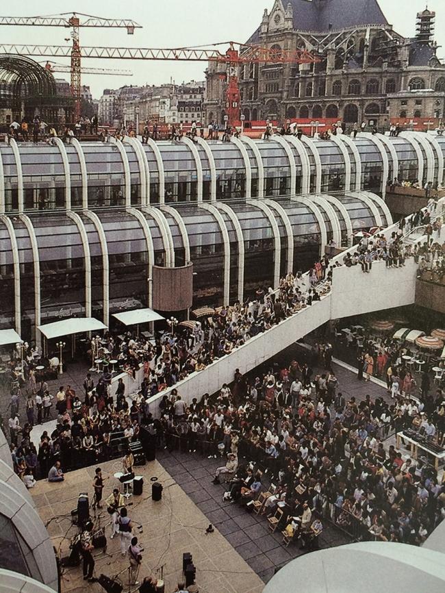 «Форум Ле-Аль» вполне оправдывал своё название. Фото 1980-х гг.