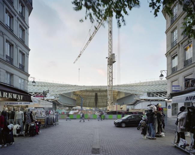 Реконструированный «Форум Ле-Аль». Арх. П. Берже, Ж. Анзьютти. 2007-2016 © Yves Marchand, Romain Meffre