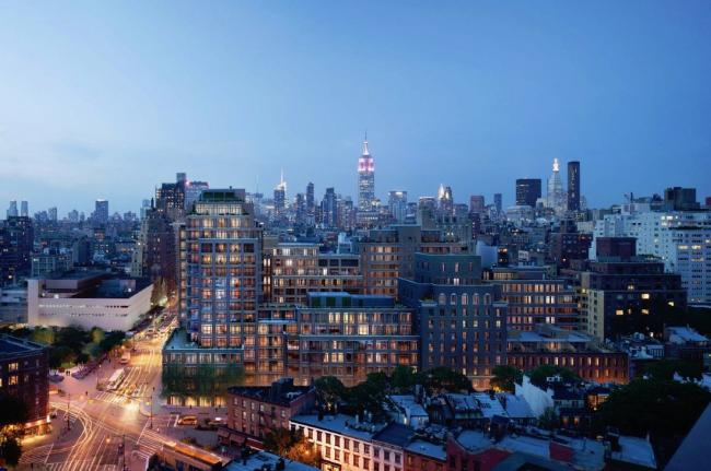 Гринвич-лан, Нью-Йорк  © FXFOWLE Architects