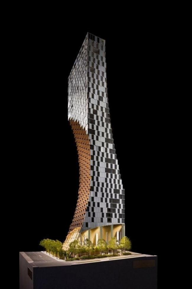 Башня Alberni by Kuma © KKAA