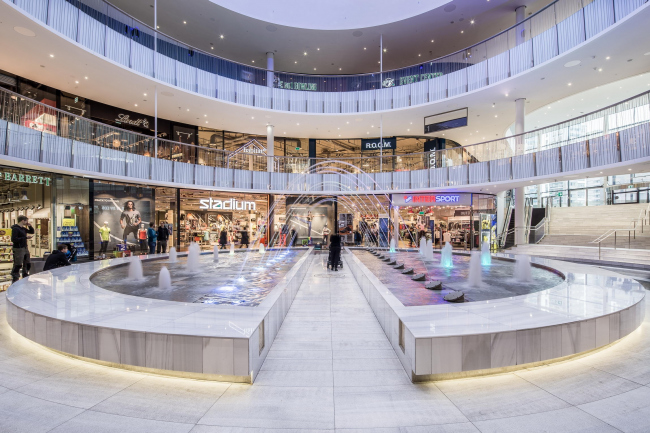 Торговый центр Mall of Scandinavia © Wingårdhs